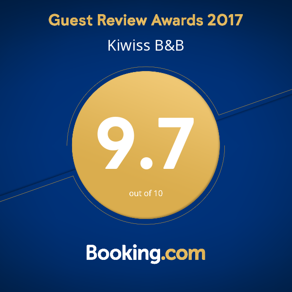 Kiwiss B&B booking.com